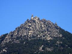 L'Uomu di Cagna depuis le sommet 469m de Vanga
