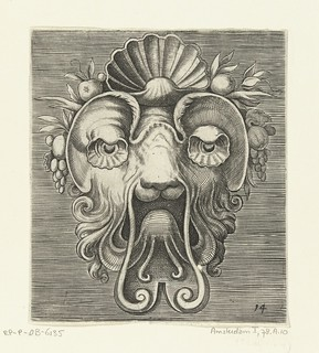 001-Flemish mask designs in the grotesque style 1555- Cornelis Floris- Rijksmuseum | by ayacata7