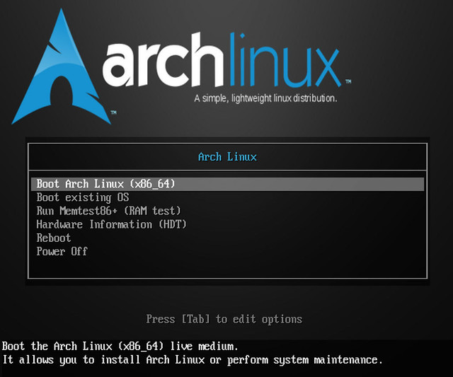 first-arch-linux-iso-snapshot-powered-by-linux-kernel-4-16-is-here