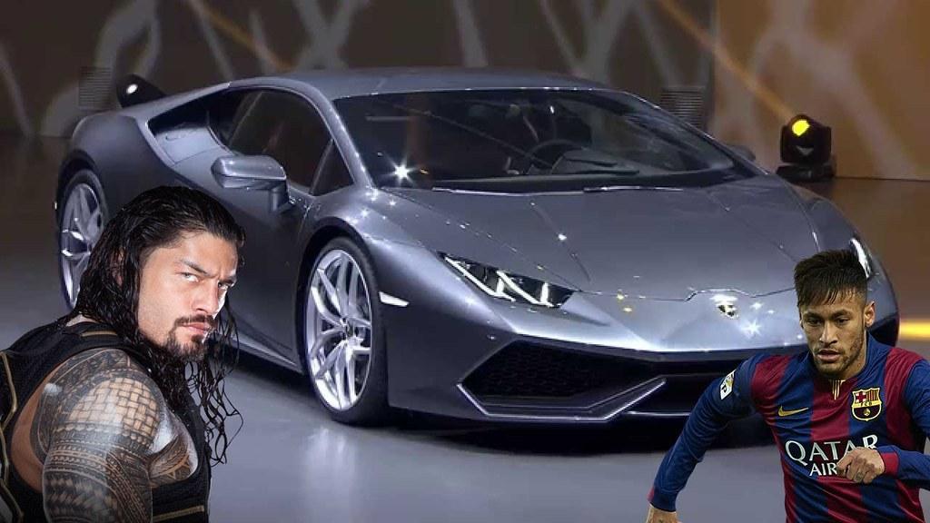 Neymar Jr Cars Vs Roman Reigns Cars 2018 Neymar Jr Cars