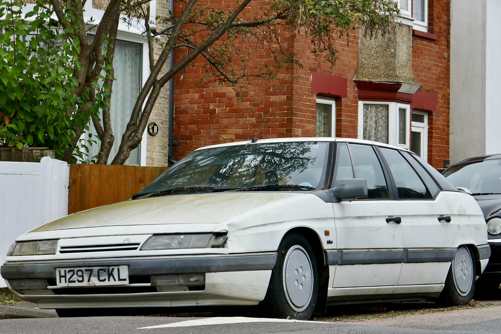 1990 citroen xm si this has been parked in this spot for flickr. Black Bedroom Furniture Sets. Home Design Ideas