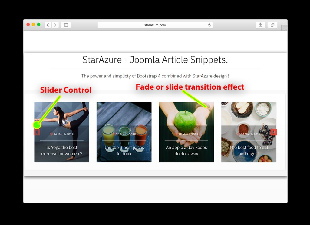 Article Snippets