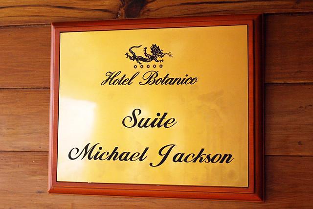 Michael Jackson suite, Hotel Botanico, Puerto de la Cruz, Tenerife