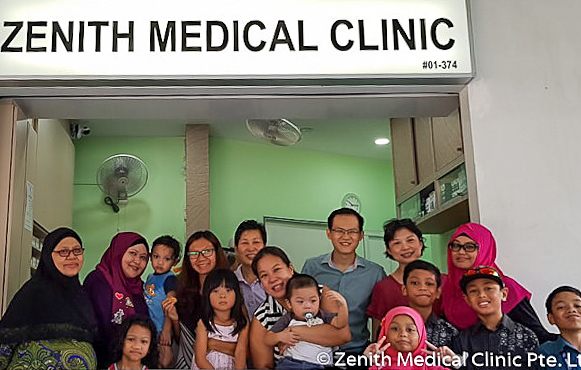Dr. Paul Ang founded Zenith Medical Clinic in Punggol, Singapore. Visit its website for location and opening hours