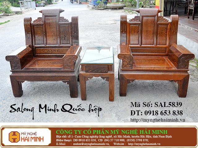 SAL5839d Salong Minh Quoc hop do go my nghe hai minh
