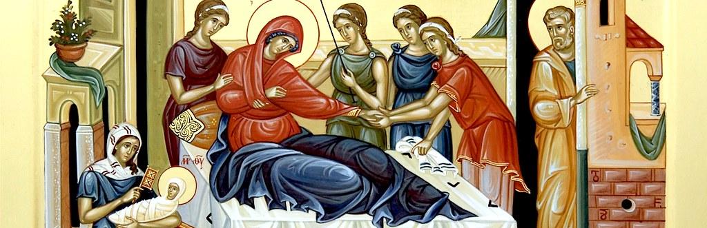 Икона Божией Матери РОЖДЕСТВО ПРЕСВЯТОЙ БОГОРОДИЦЫ