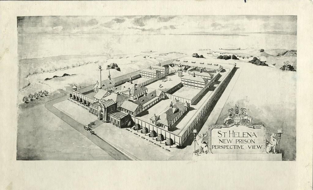 St Helena Penal Establishment New Penitentiary Book Of Flickr