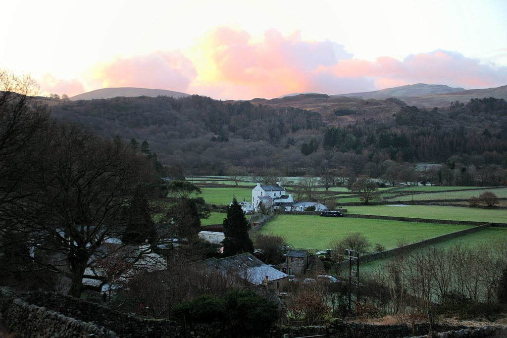 Cumbria, where we spent some time after Christmas