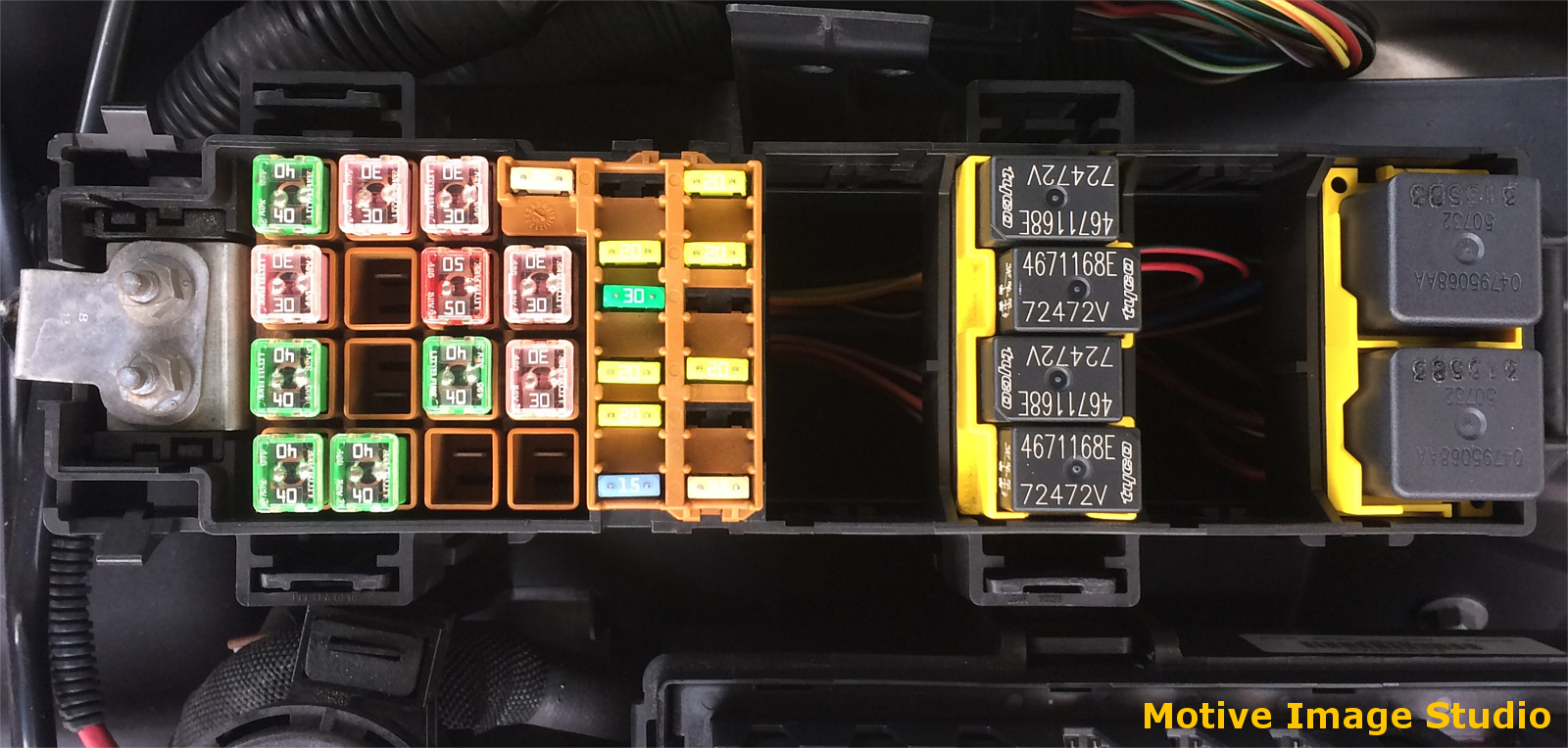 Fuse Box 1 Layout