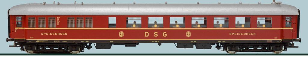 DSG 1106 aus Roco Set 64194 SCHWABENPFEIL