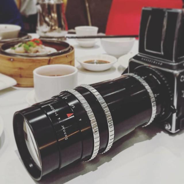 Contarex Sonnar 250mm f4 大底解放