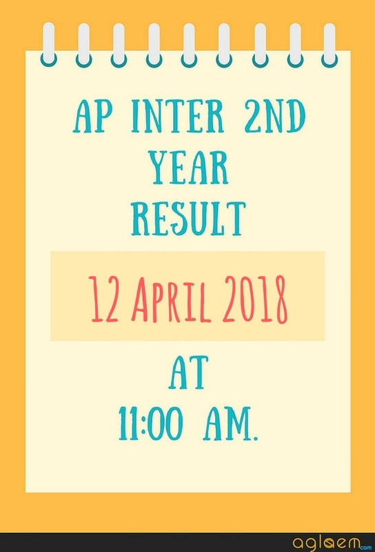 AP Inter Results 2018 Date And Time Check Here