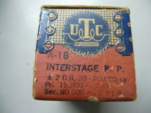 UTC A18 NOS
