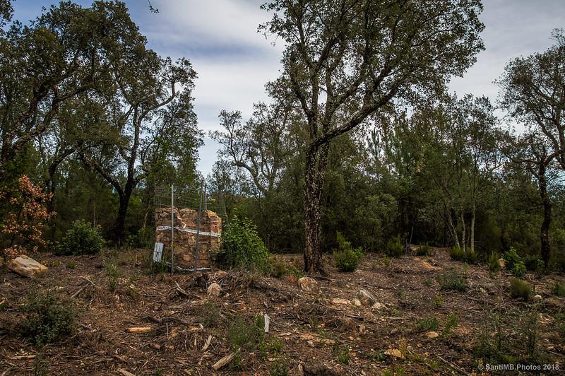 Pozo abandonado en el Bosc de les Agudes