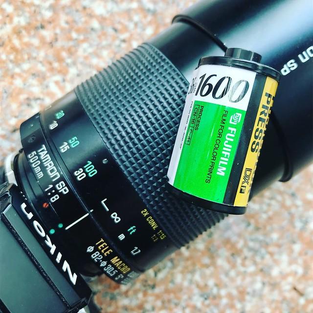 Tamron 500mm f8 macro 菲林反射感