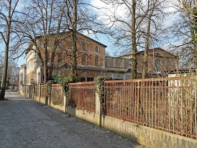 Gesellschaftshaus Grünau - Außenansicht des ehemaligen Ausflugslokals