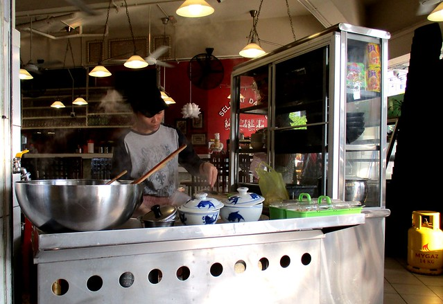Alibaba beef noodles stall