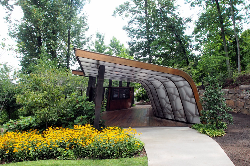 Bachman Wilson House Entrance Pavilion By Students At