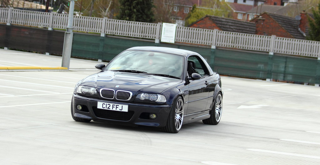 Bmw E46 M3 Convertible Carbon Black Smg Cliff Judson Flickr