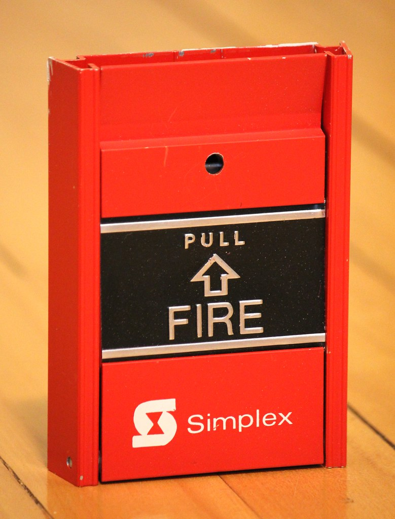 simplex fm950 e fire alarm pull station samuel flickr