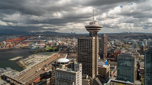 Harbour Centre with other parts of Vancouver | by bastinaaron