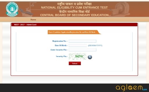 NEET 2018 Admit Card Issued   Get Here NEET Admit Card 2018