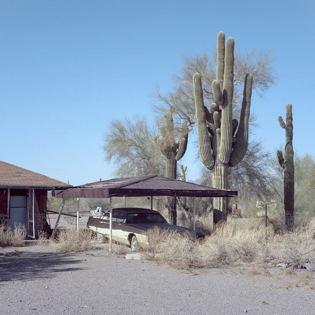abandoned new yorker saguaro. brenda, az. 2018. | by eyetwist