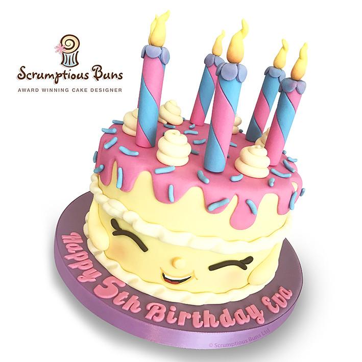 Shopkins Wishes Birthday Cake Vanilla Shopkins Cake For Flickr
