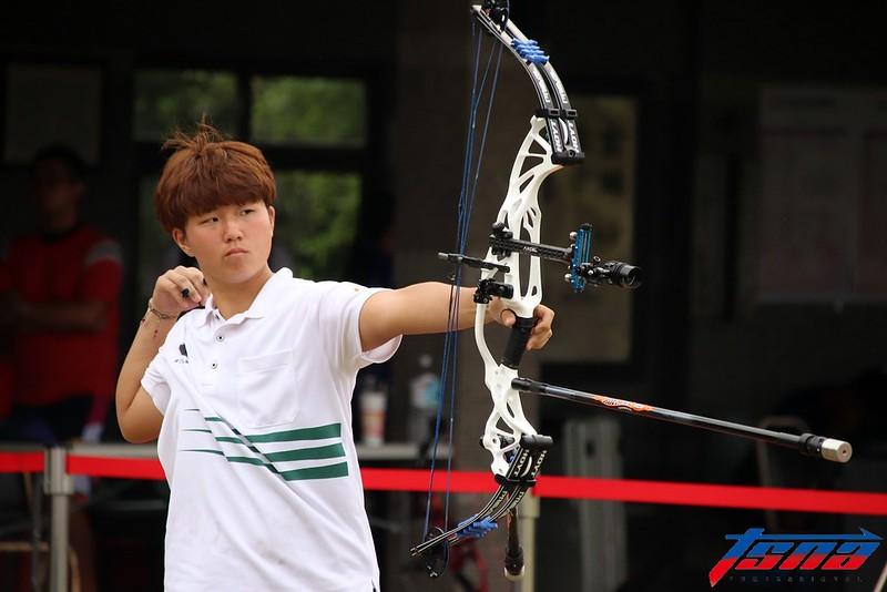複合弓亞運代表隊選手陳怡瑄。(資料照/林志儒/攝)