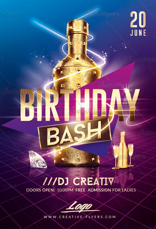 Birthday flyer template photoshop psd flyer psd template flickr birthday flyer template by creativeflyers birthday flyer template by creativeflyers maxwellsz
