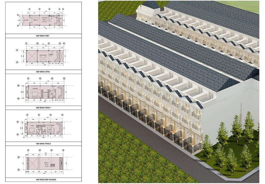 thiết kế dự án nhà phố Bùi Tư Toàn 1