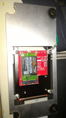 54832D: SSD on bracket