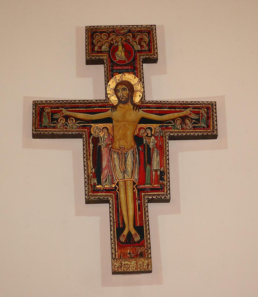 St Francis Of Assisi N Tonawanda Painted Crucifix Flickr