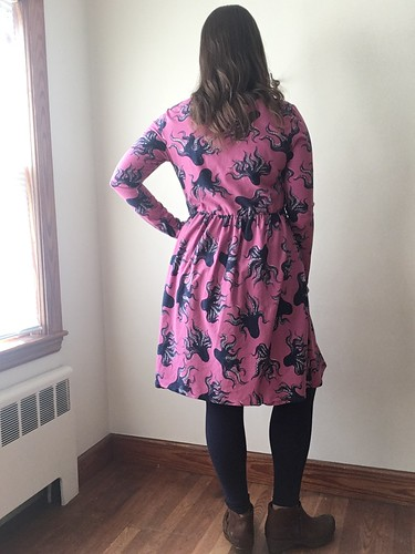 McCall's 7561 Knit Octopus Dress | by patternandbranch
