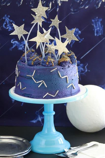 Constellation Milky Way Cake