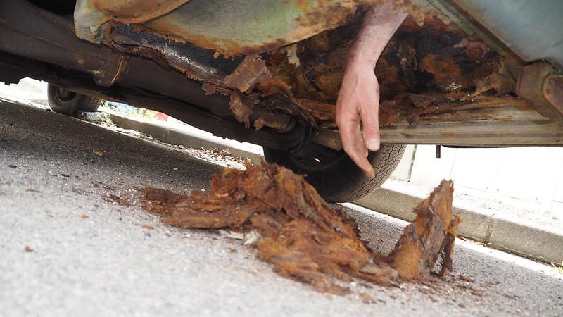 Rover P6 2000 Mk1 - Léger voile de peinture à prévoir 40728554665_625170cd1c_c