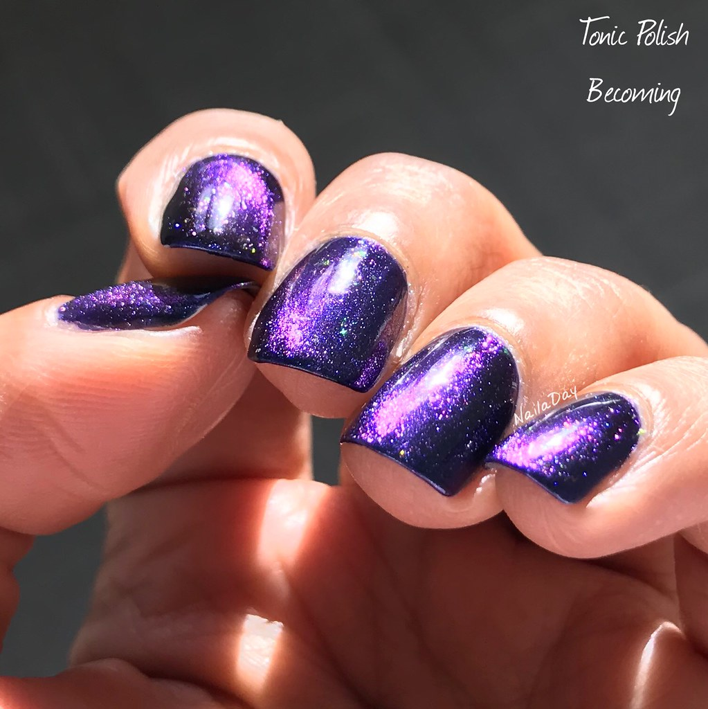 NailaDay:Tonic Polish Becoming