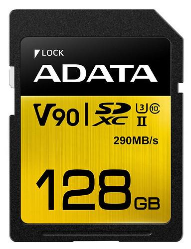 ADATA-Premier-ONE-V90-128GB-SDXC-UHS-II-Clase-10-memoria-flash