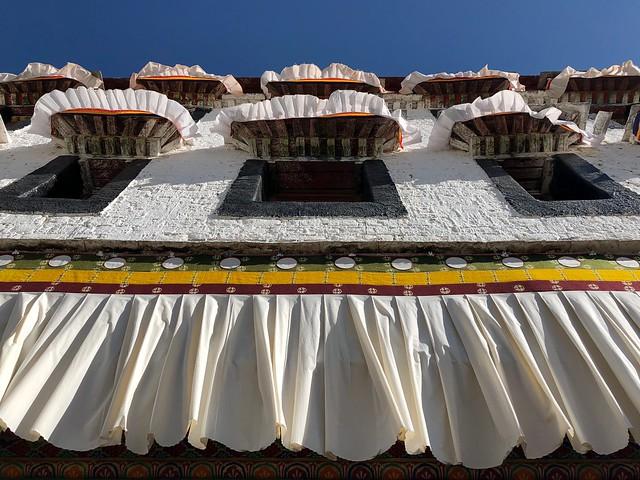 Viento en el Palacio de Potala (Lhasa, Tíbet)
