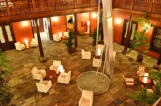 Courtyard, Hotel San Roque, Garachico, Tenerife