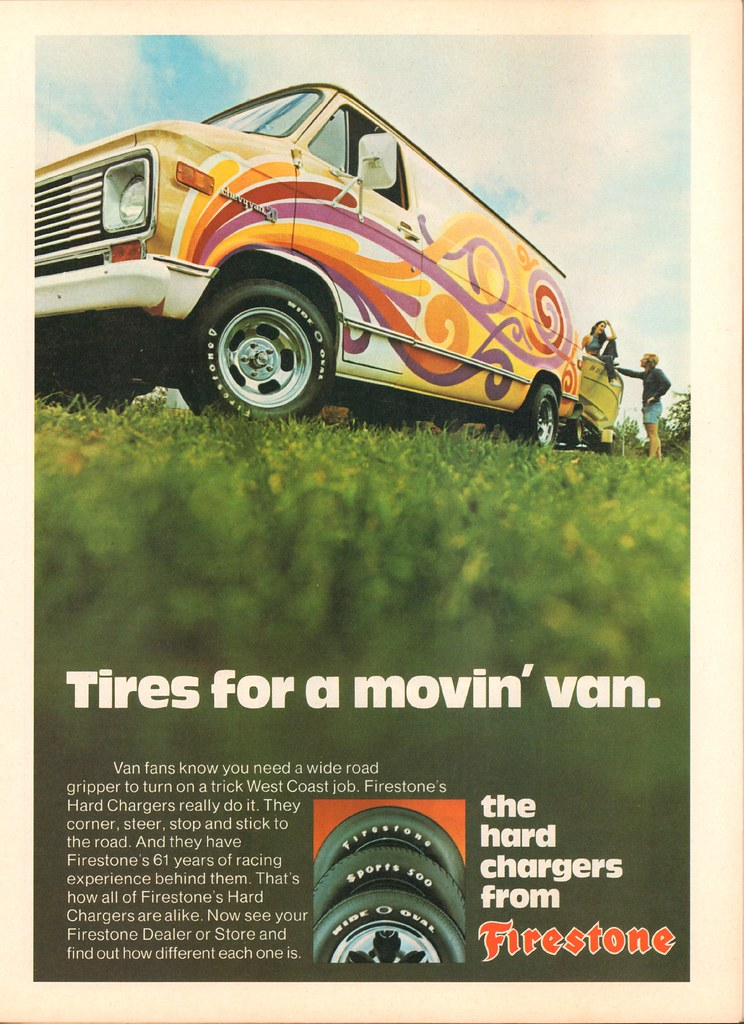 1974 Firestone Tires Advertisement Hot Rod Magazine July 1 Flickr