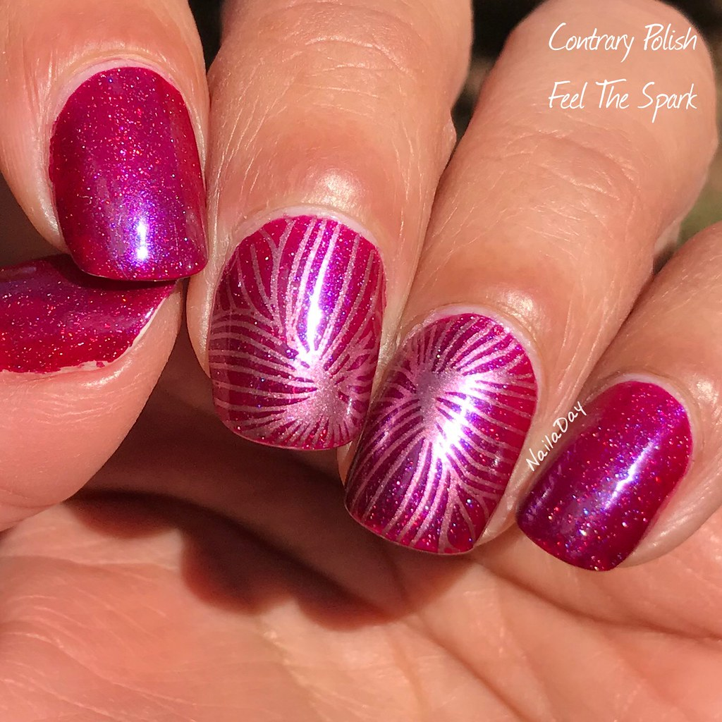 NailaDay: Contrary Polish Feel The Spark (May 2017 PPU)