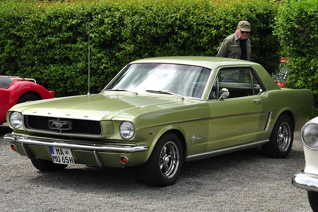 1. Mai 2018_Oldtimer-Treffen in Ketsch_Fotos: Brigitte Stolle_Ford Mustang 1965