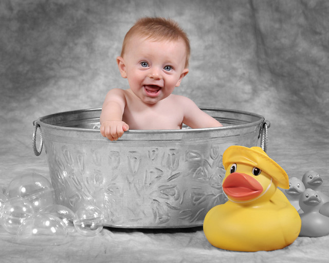 baby in wash tub slavie flickr. Black Bedroom Furniture Sets. Home Design Ideas