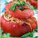 Tomates farcies au croûtons de pain à la sarriette - Stuffed Tomatoes With Savory Croûtons