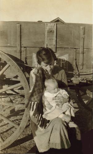 motherly love eases oklahoma dust