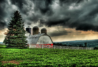 The Barn in the Storm | by Stuck in Customs