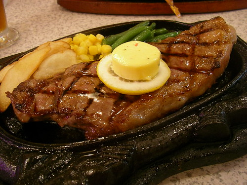 Newyork steak @ Steak house 88 (Naha, Okinawa) | by jetalone