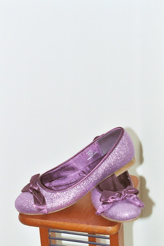 Sparkly Shoes For A Little Girl