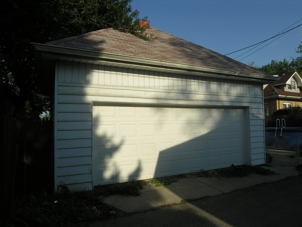 ... Garage In Alley Between Avers Ave And Springfield Ave In The Villa | By  YoChicago